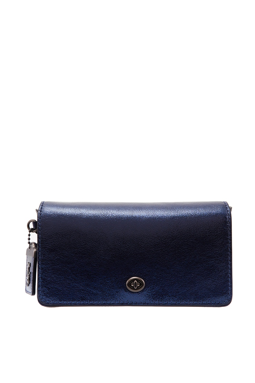 Синяя сумка-кроссбоди Dinky Coach