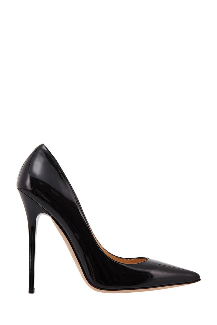 Черные лакированные туфли Anouk Jimmy Choo