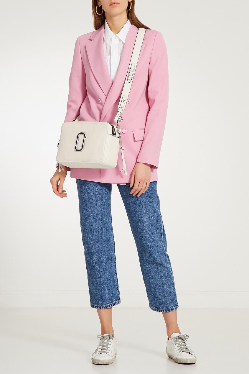 женская сумка marc jacobs, белая