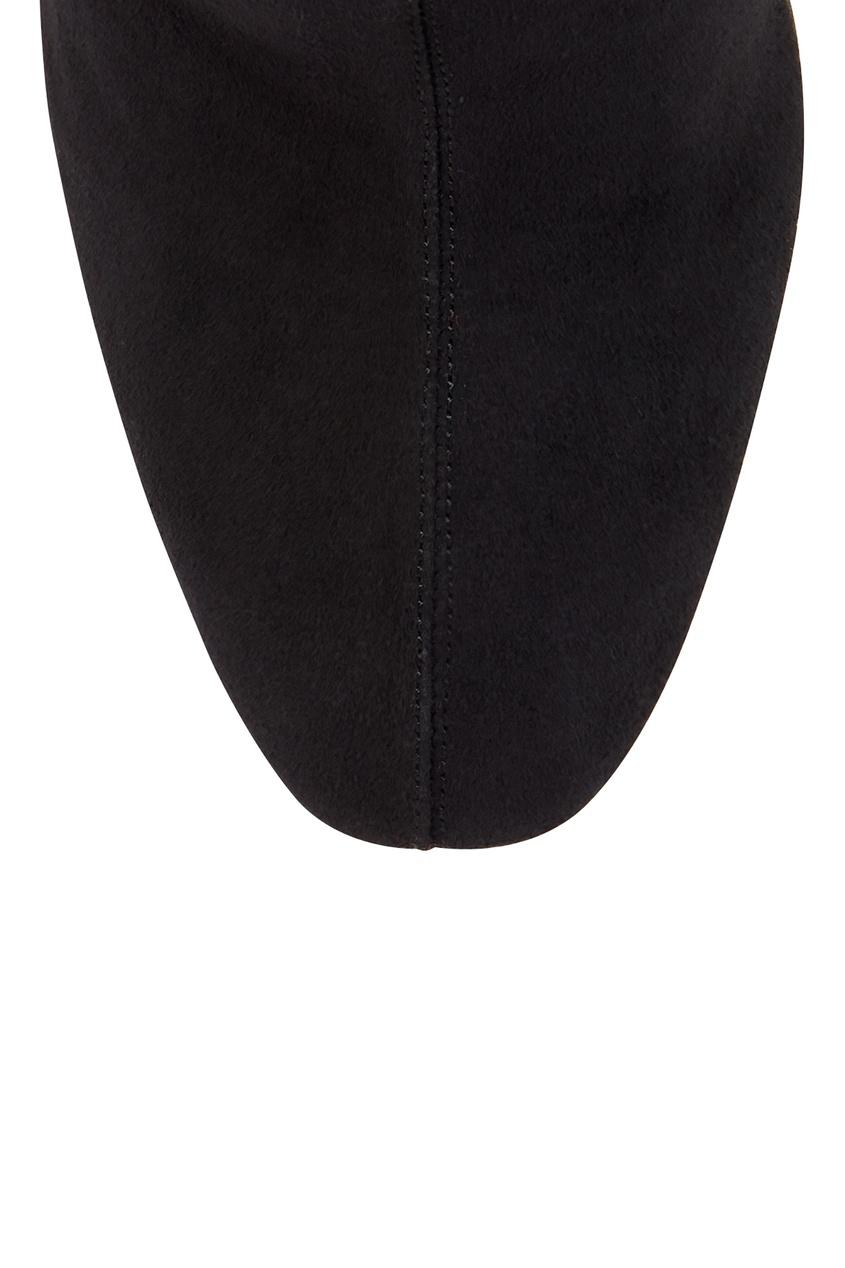 Черные сапоги Medina Boot 105 Aquazzura черный 975110365