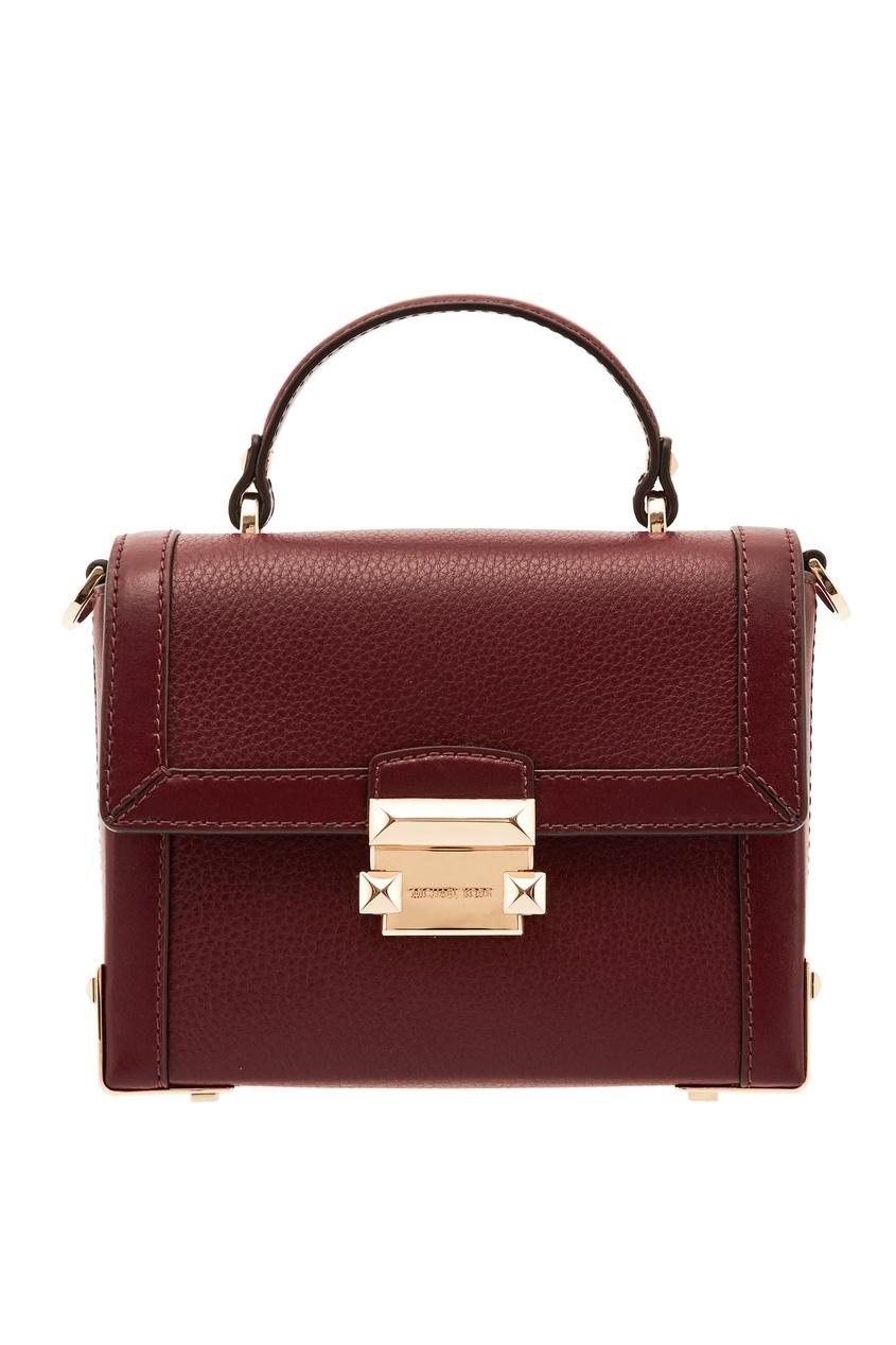 Бордовая сумка Jayne MICHAEL MICHAEL KORS