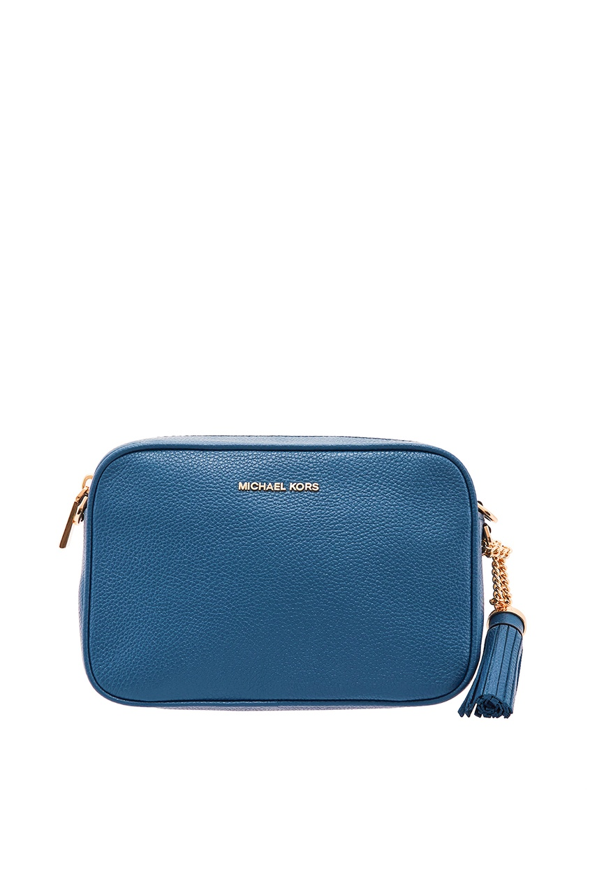 Голубая сумка Crossbodies MICHAEL MICHAEL KORS