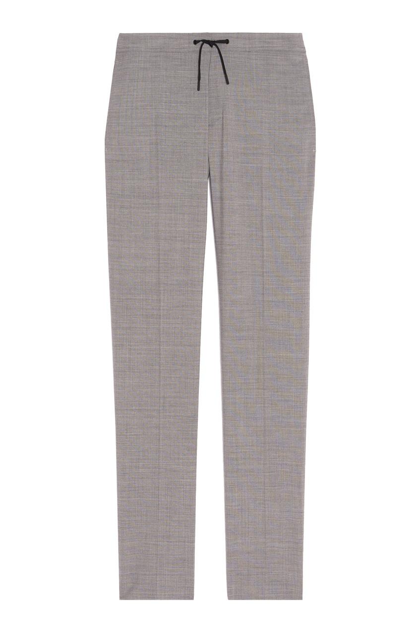 Купить Серые брюки с эластичным поясом от Sandro серого цвета