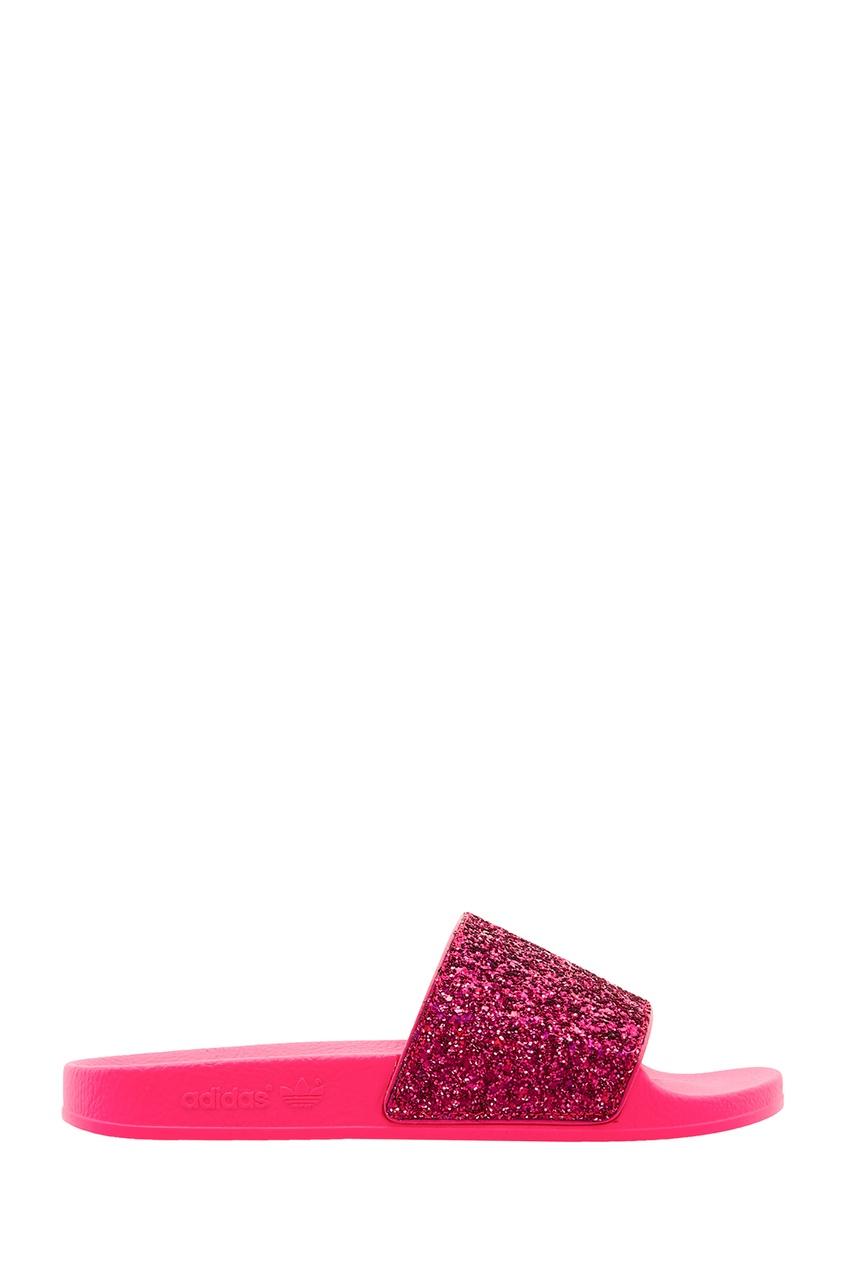 женские пантолеты adidas, розовые