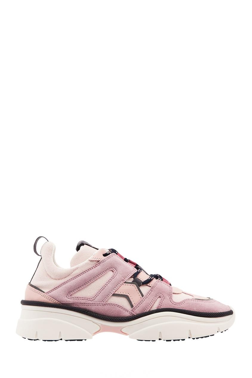 Розовые кроссовки Kindsay ISABEL MARANT