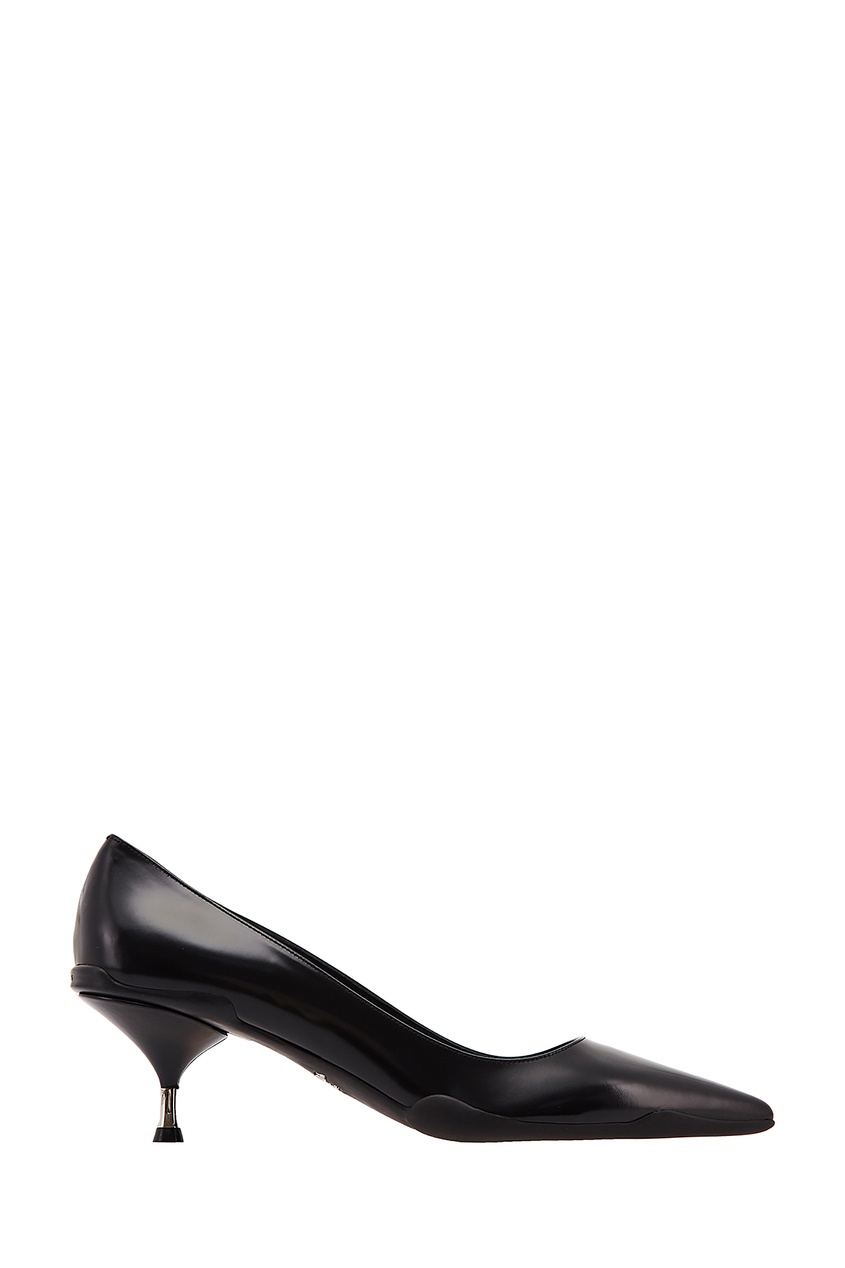 Закрытые черные туфли Opanca PRADA