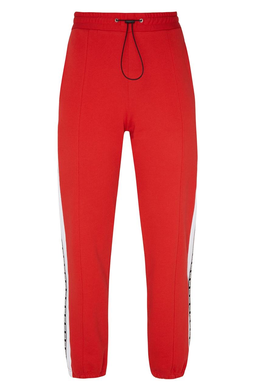 женские спортивные брюки msgm, красные