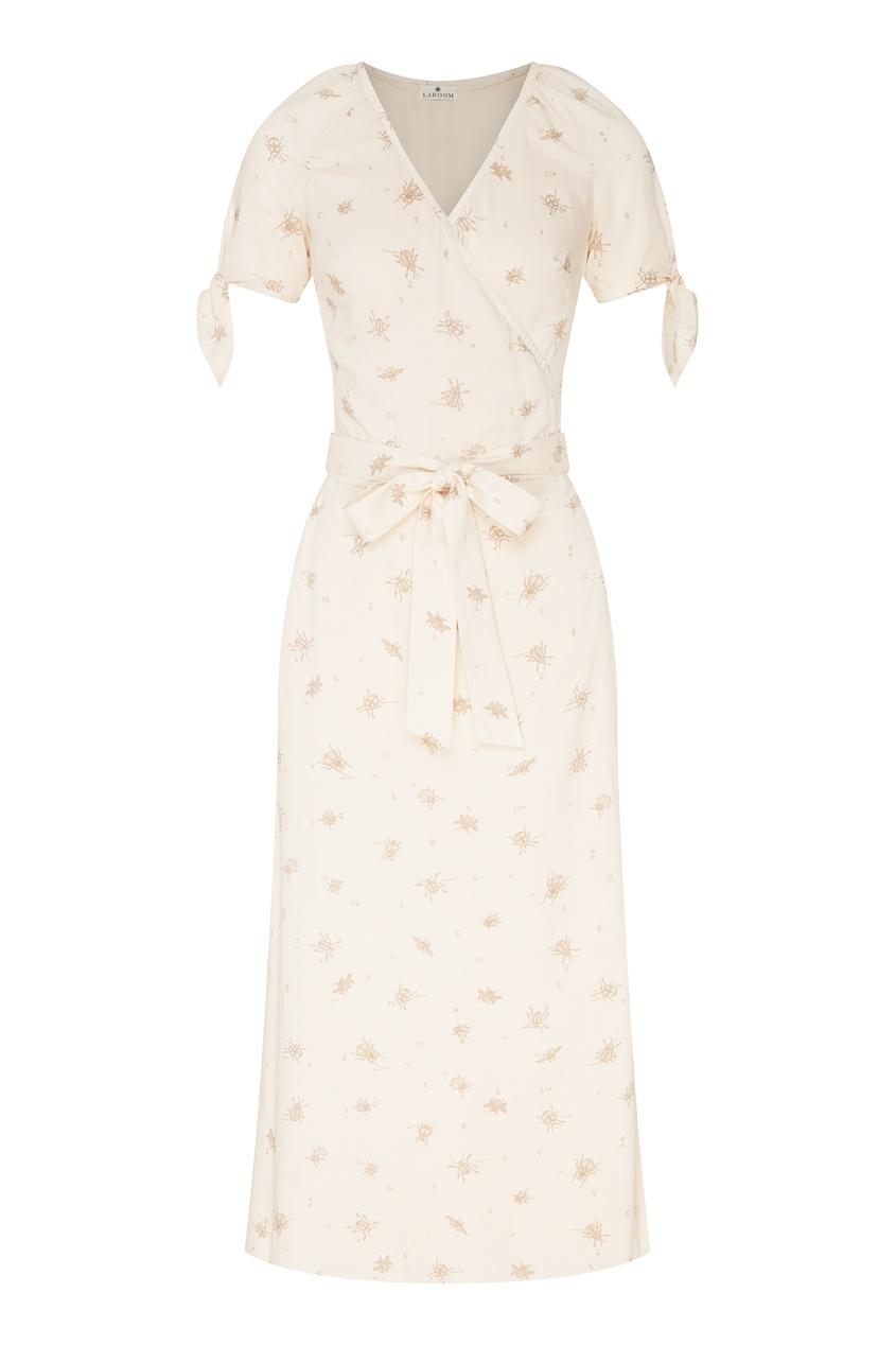 женское платье laroom, бежевое