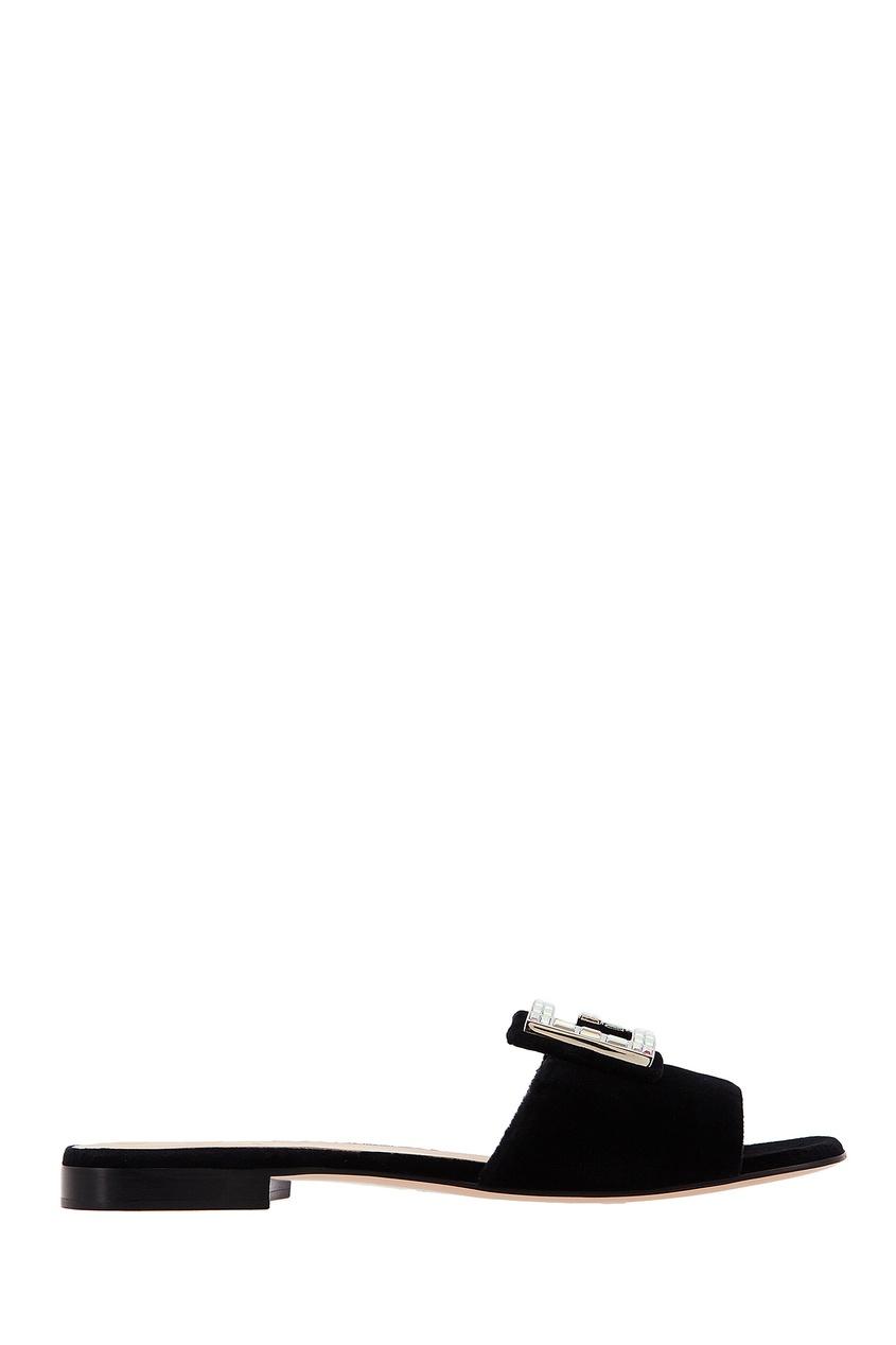 женские пантолеты gucci, черные