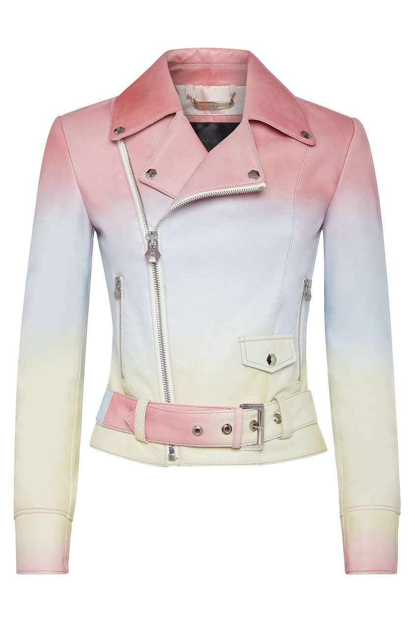 Короткая куртка с градиентом Philipp Plein