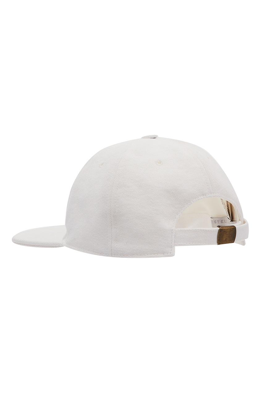женская кепка stella mccartney, белая