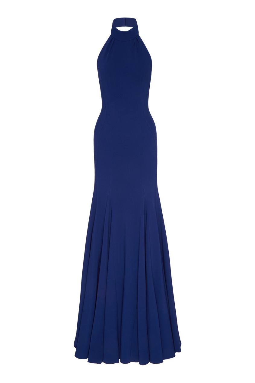 Синее платье Stella McCartney