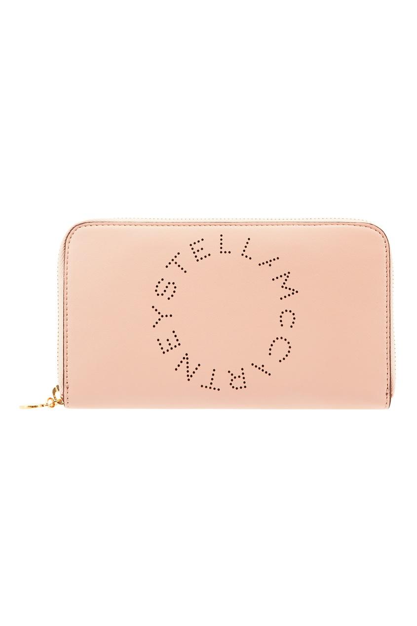 женский кошелёк stella mccartney, розовый