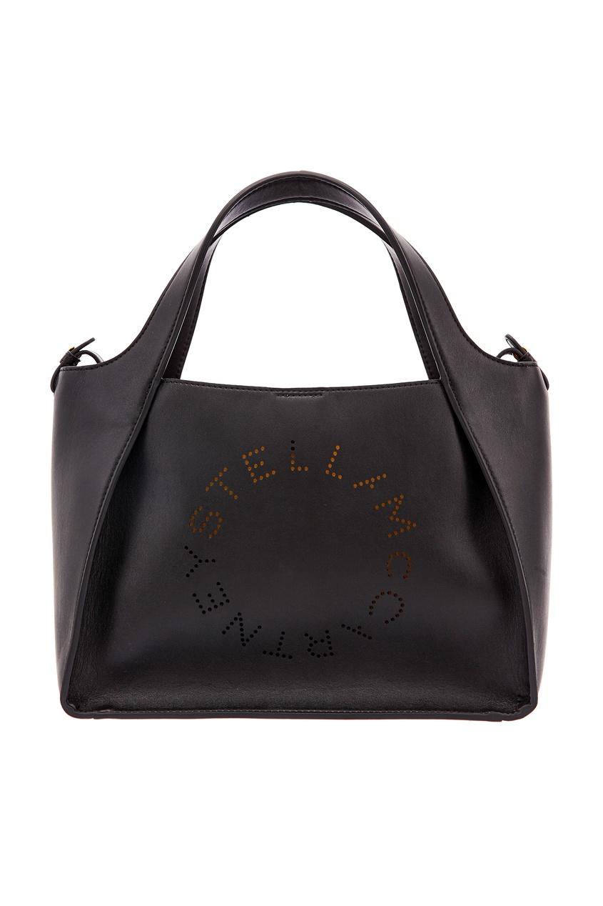 женская сумка stella mccartney, черная