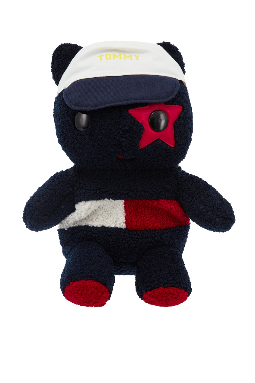 Черный рюкзак-мишка Tommy Hilfiger kids