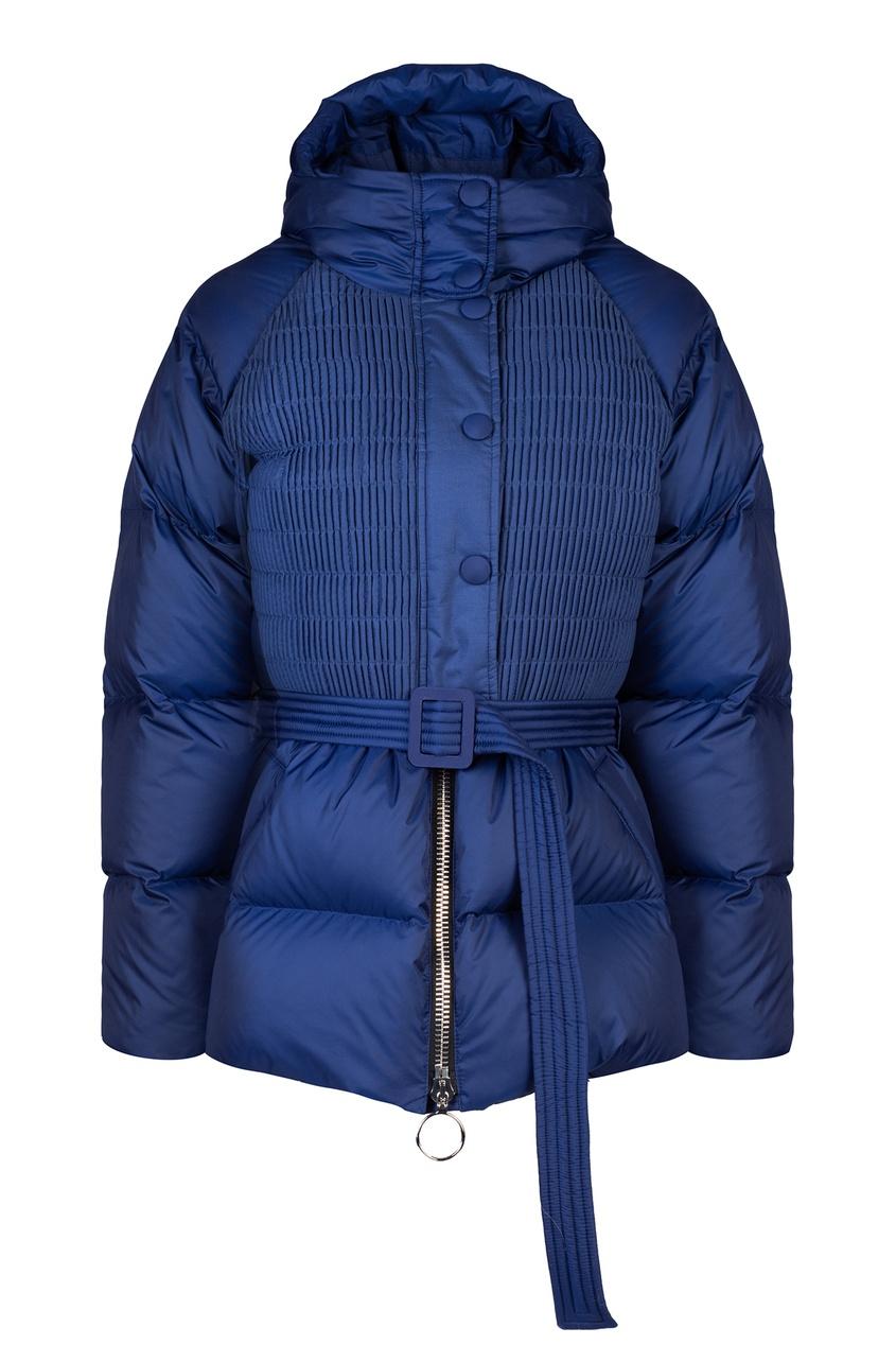 Купить Синяя куртка-пуховик от Ienki Ienki синего цвета
