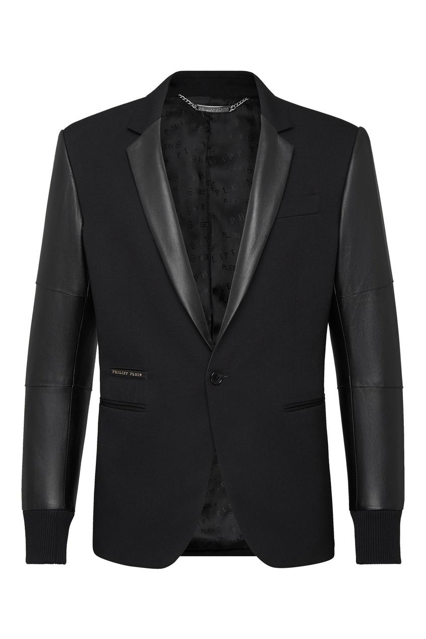 Купить со скидкой Комбинированный пиджак