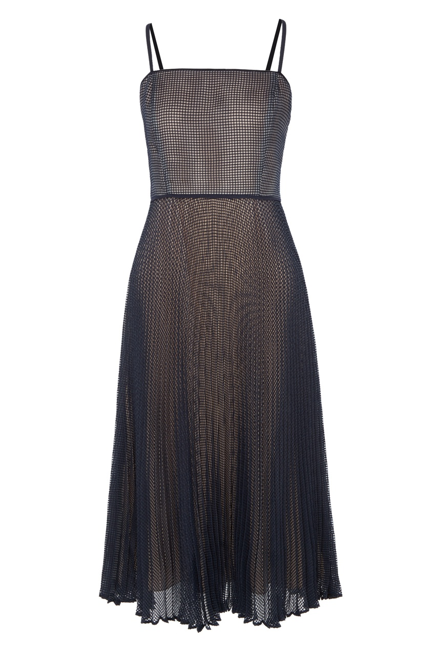 Сетчатое платье на бретелях Fendi