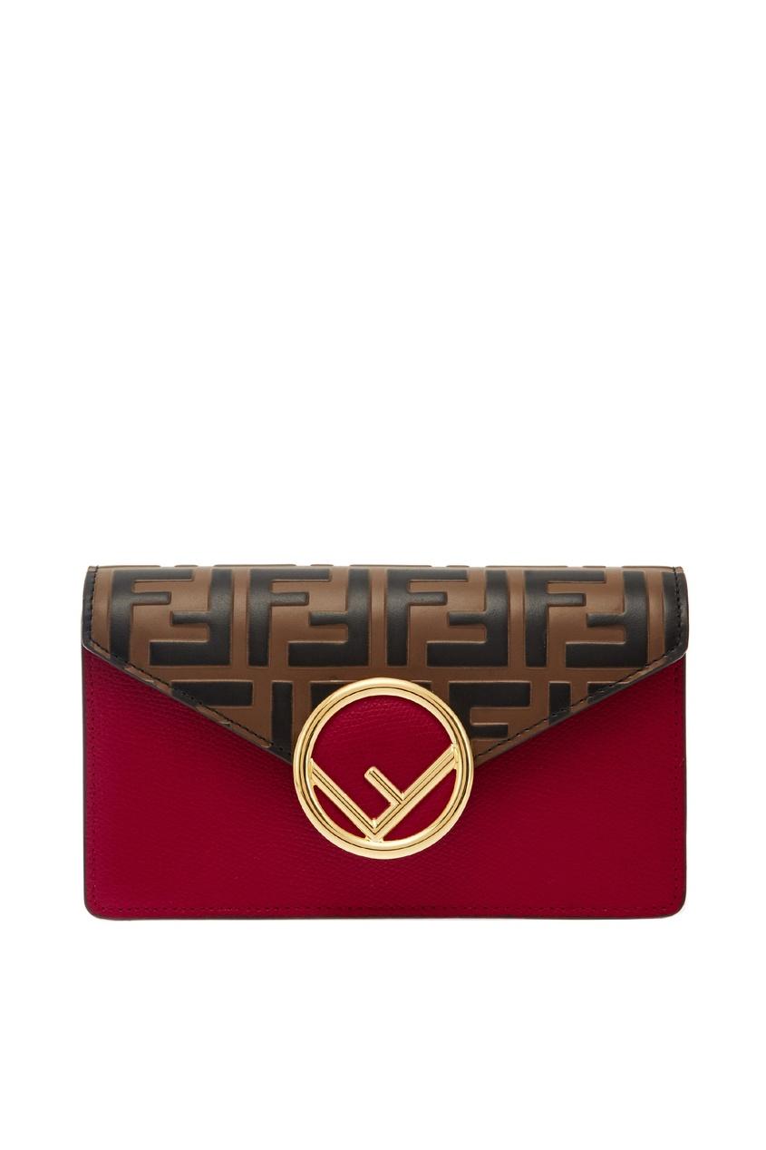 Компактная поясная сумка с логотипами Fendi