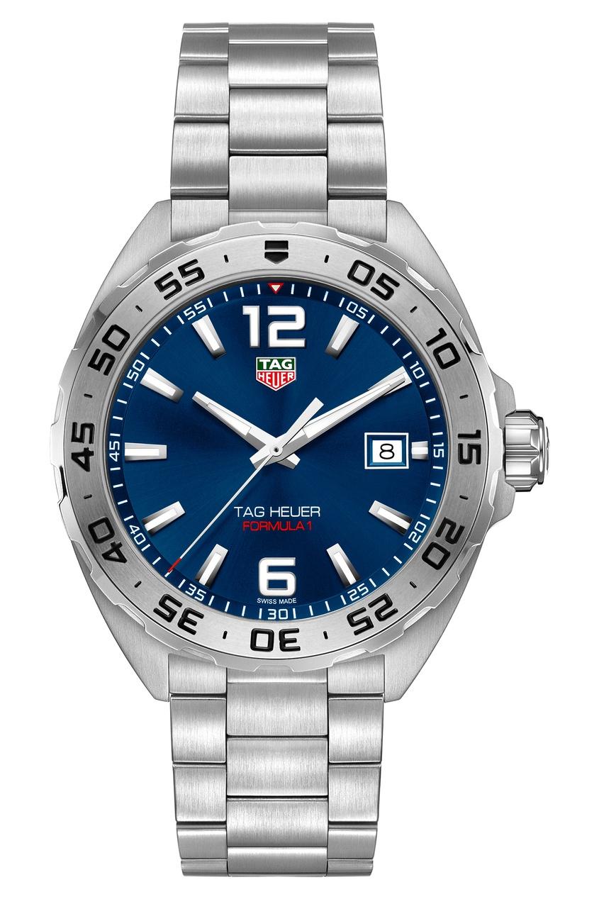 FORMULA 1 Кварцевые мужские часы с синим циферблатом