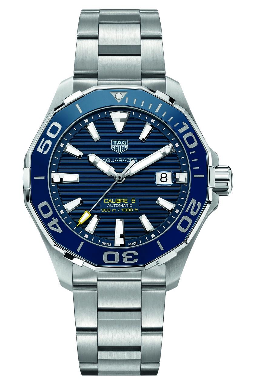 AQUARACER Calibre 5 Автоматические мужские часы с керамическим безелем