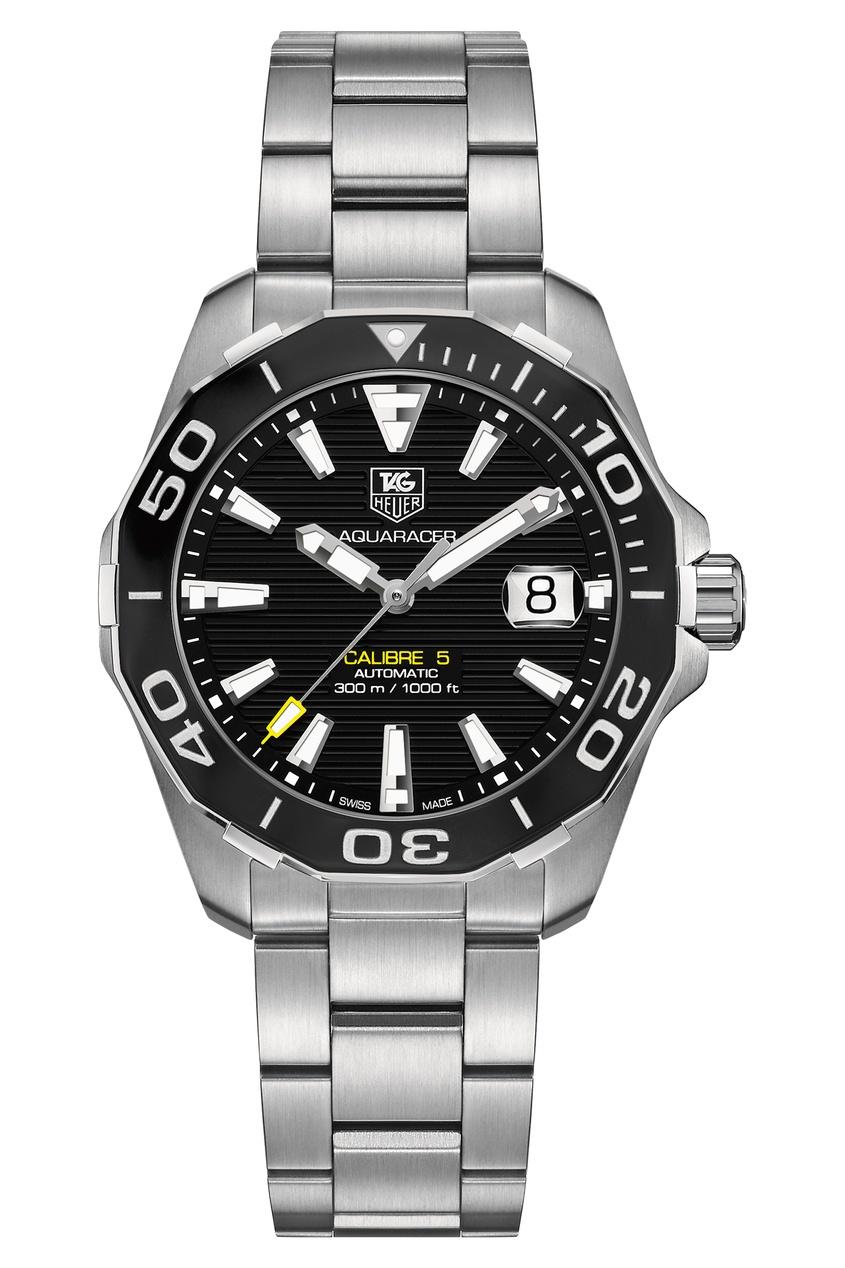 AQUARACER Автоматические мужские часы с черным циферблатом