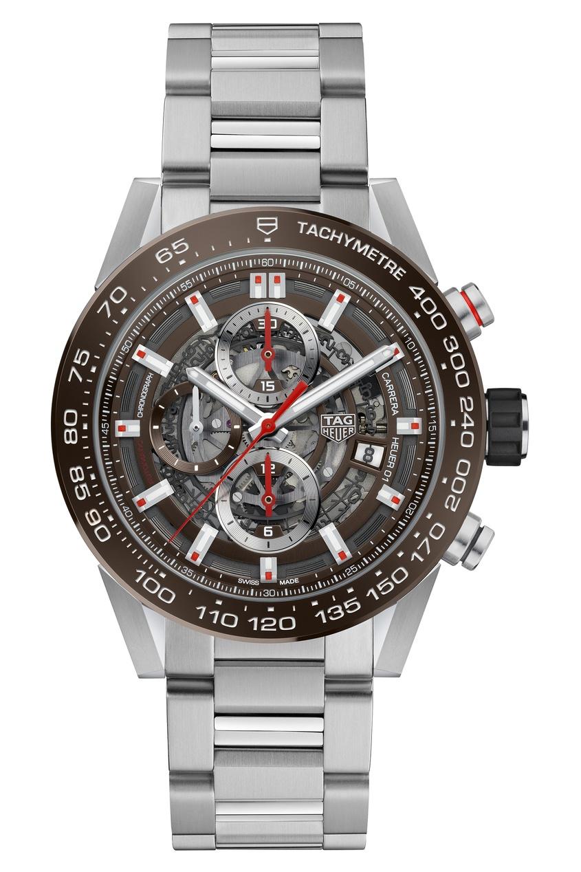 Фото - CARRERA Calibre Heuer 01 Автоматические мужские часы с хронографом цвет без цвета