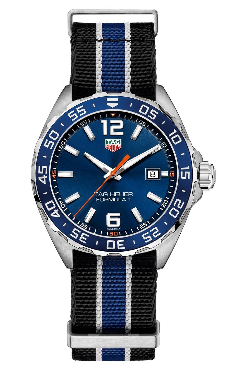 FORMULA 1 Кварцевые мужские часы с текстильным ремешком
