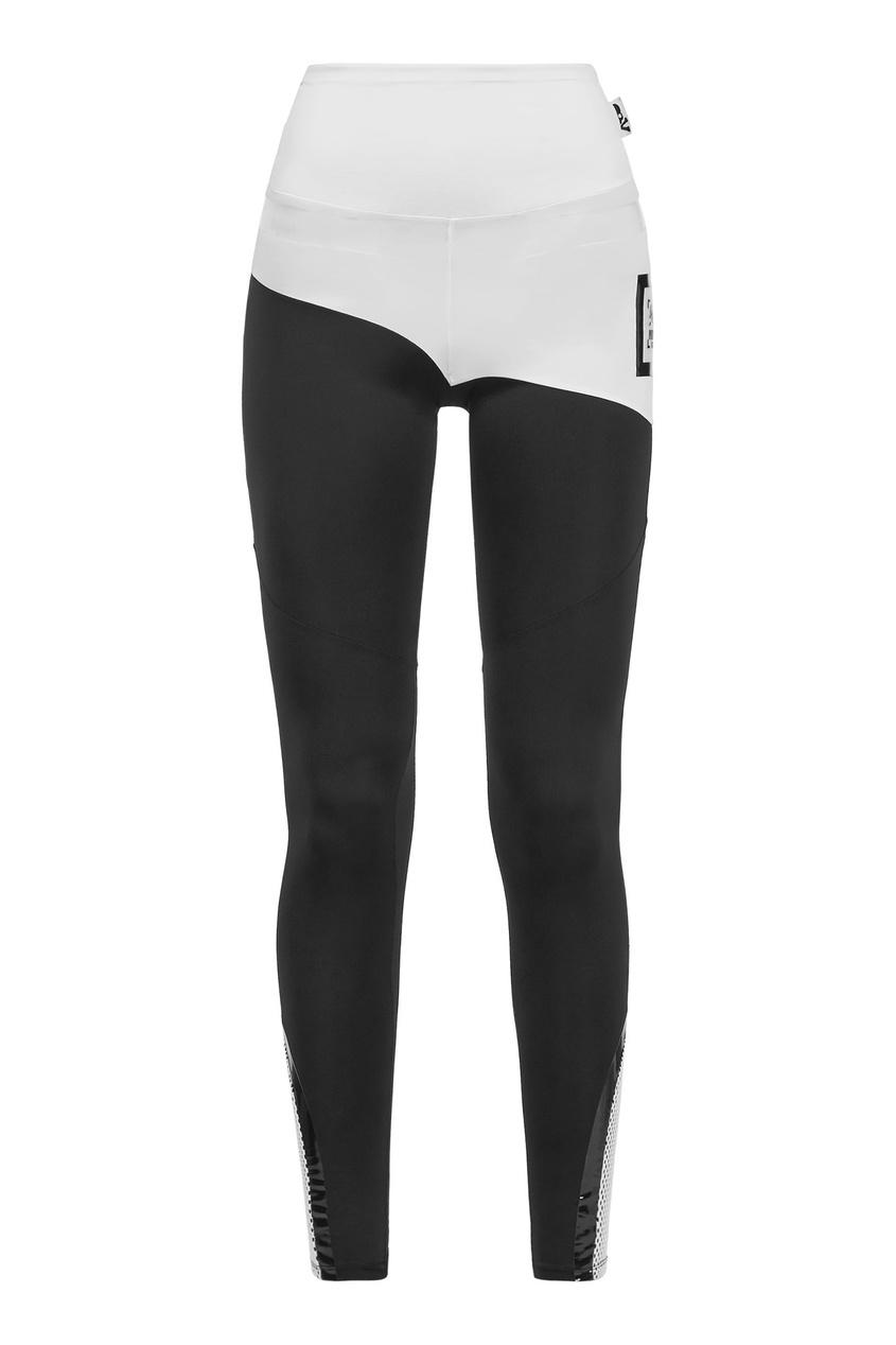 Черно-белые леггинсы Philipp Plein