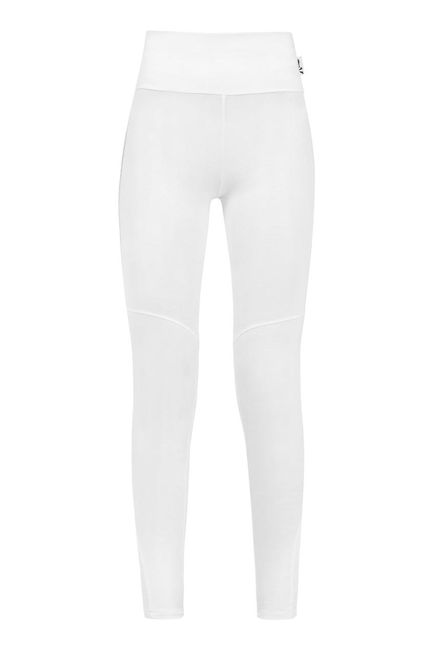 Белые леггинсы Philipp Plein