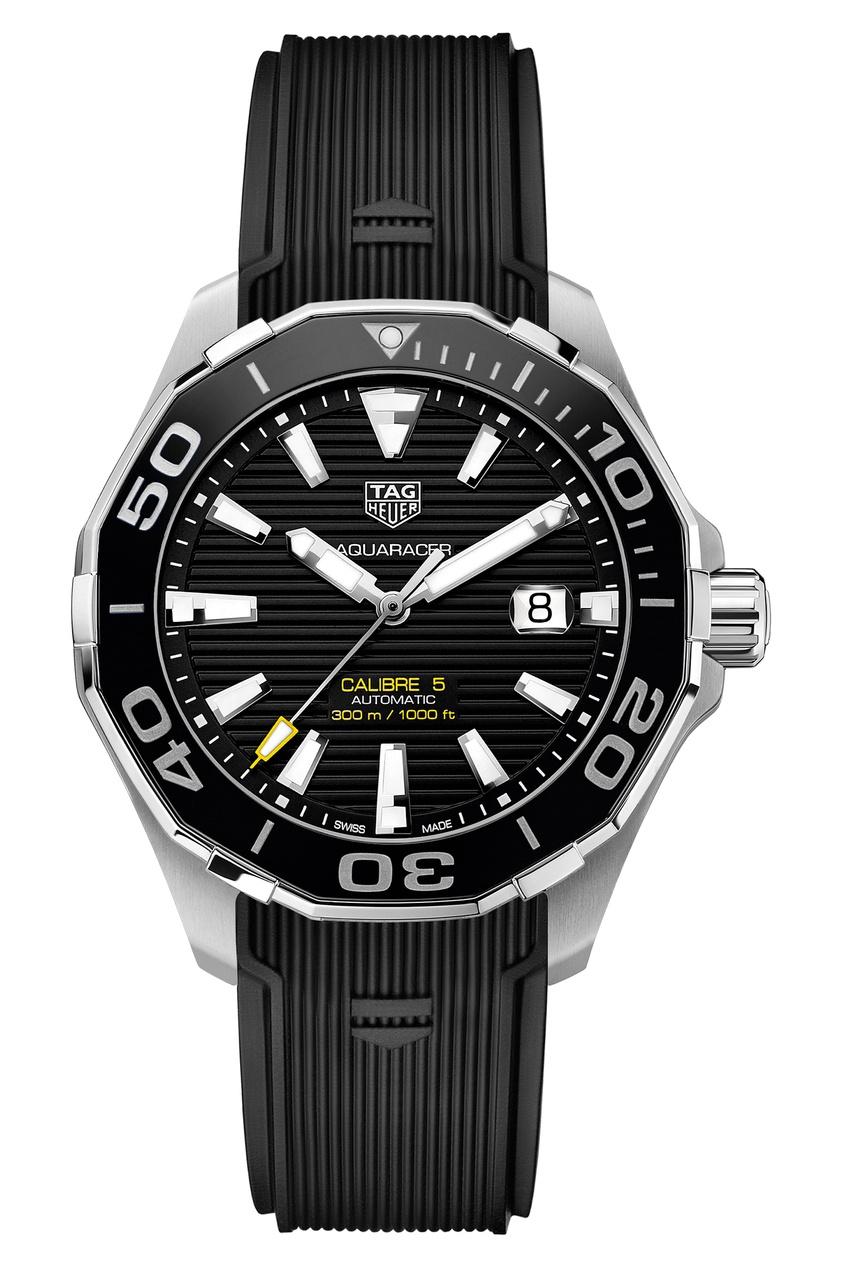 Купить AQUARACER Calibre 5 Автоматические мужские часы с черным циферблатом цвет без цвета