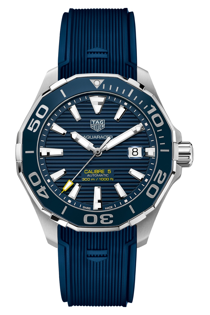 AQUARACER Calibre 5 Автоматические мужские часы с синим циферблатом