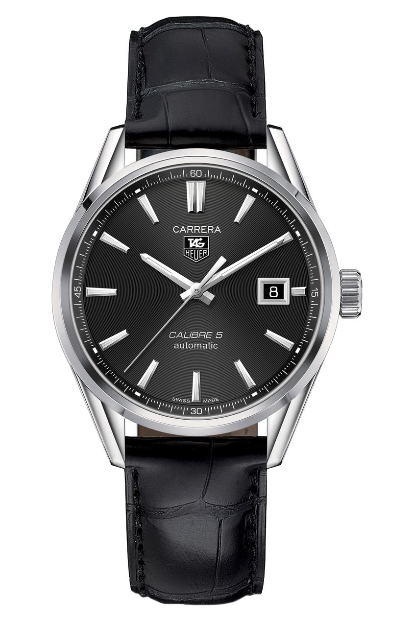 CARRERA Calibre 5 Автоматические мужские часы с черным циферблатом