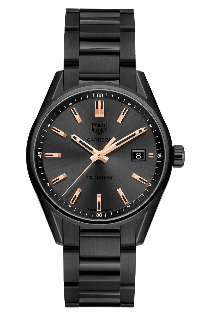 CARRERA Кварцевые женские часы с черным циферблатом