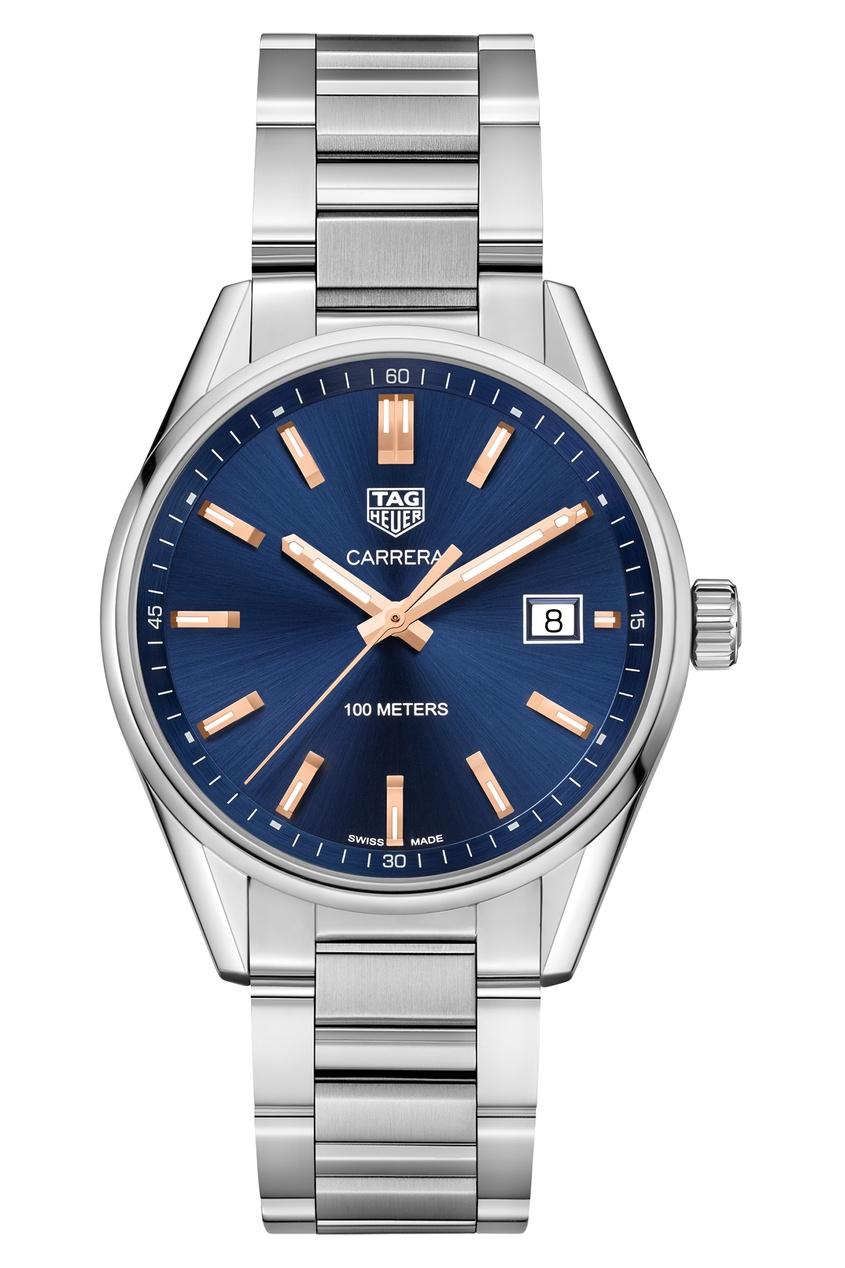 CARRERA Кварцевые женские часы с синим циферблатом