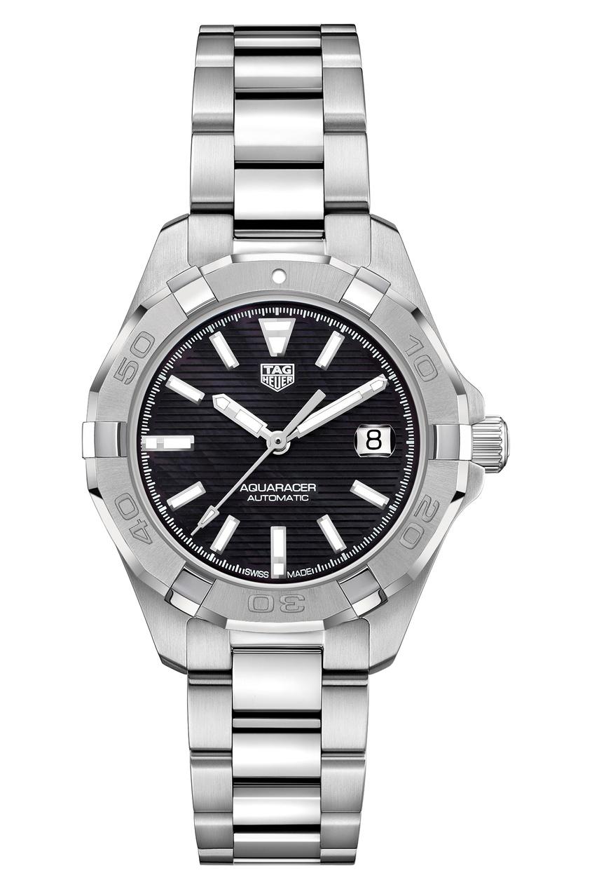 AQUARACER Calibre 9 Автоматические мужские часы с черным циферблатом
