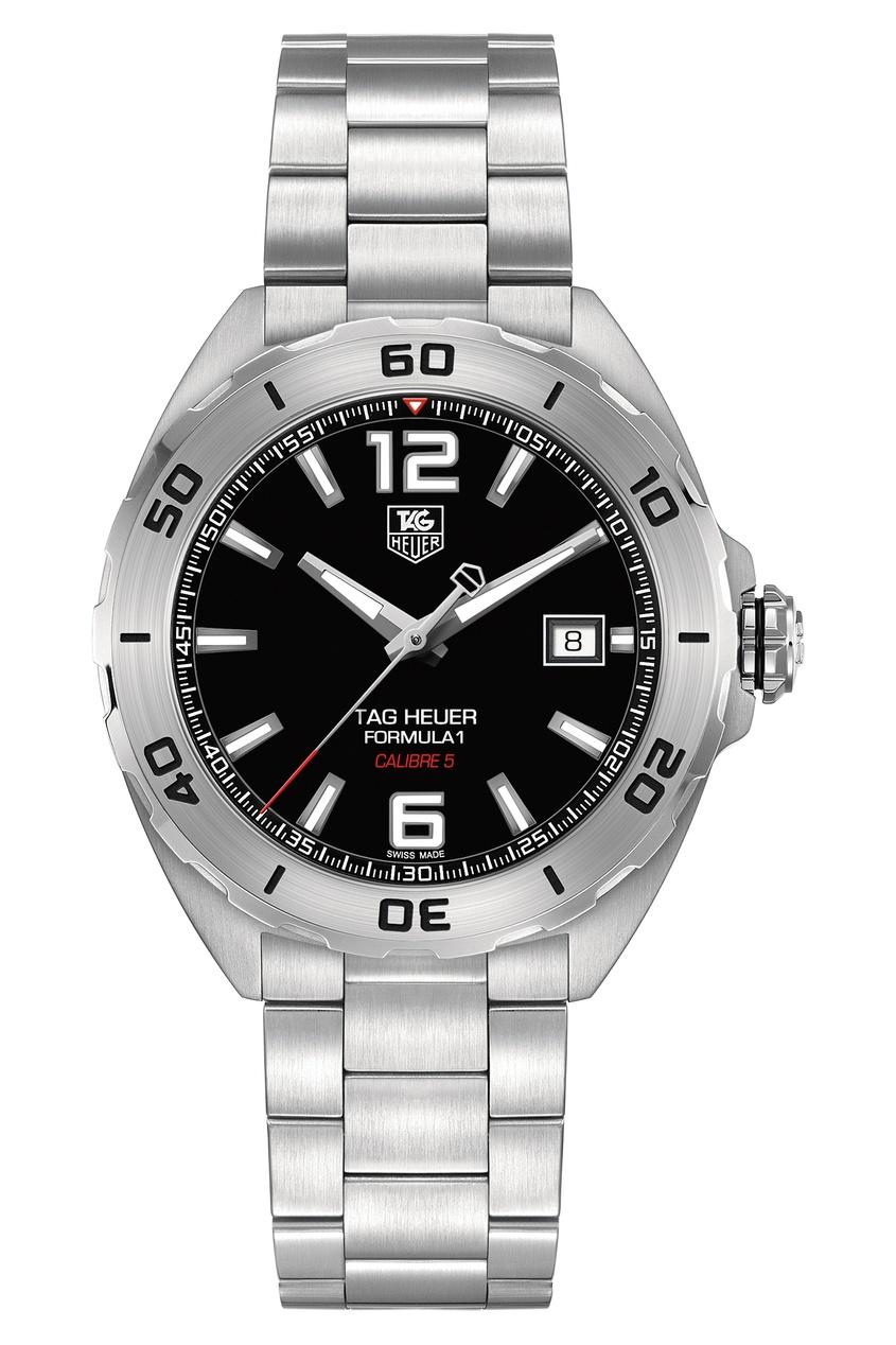 FORMULA 1 Calibre 5 Автоматические мужские часы с черным циферблатом