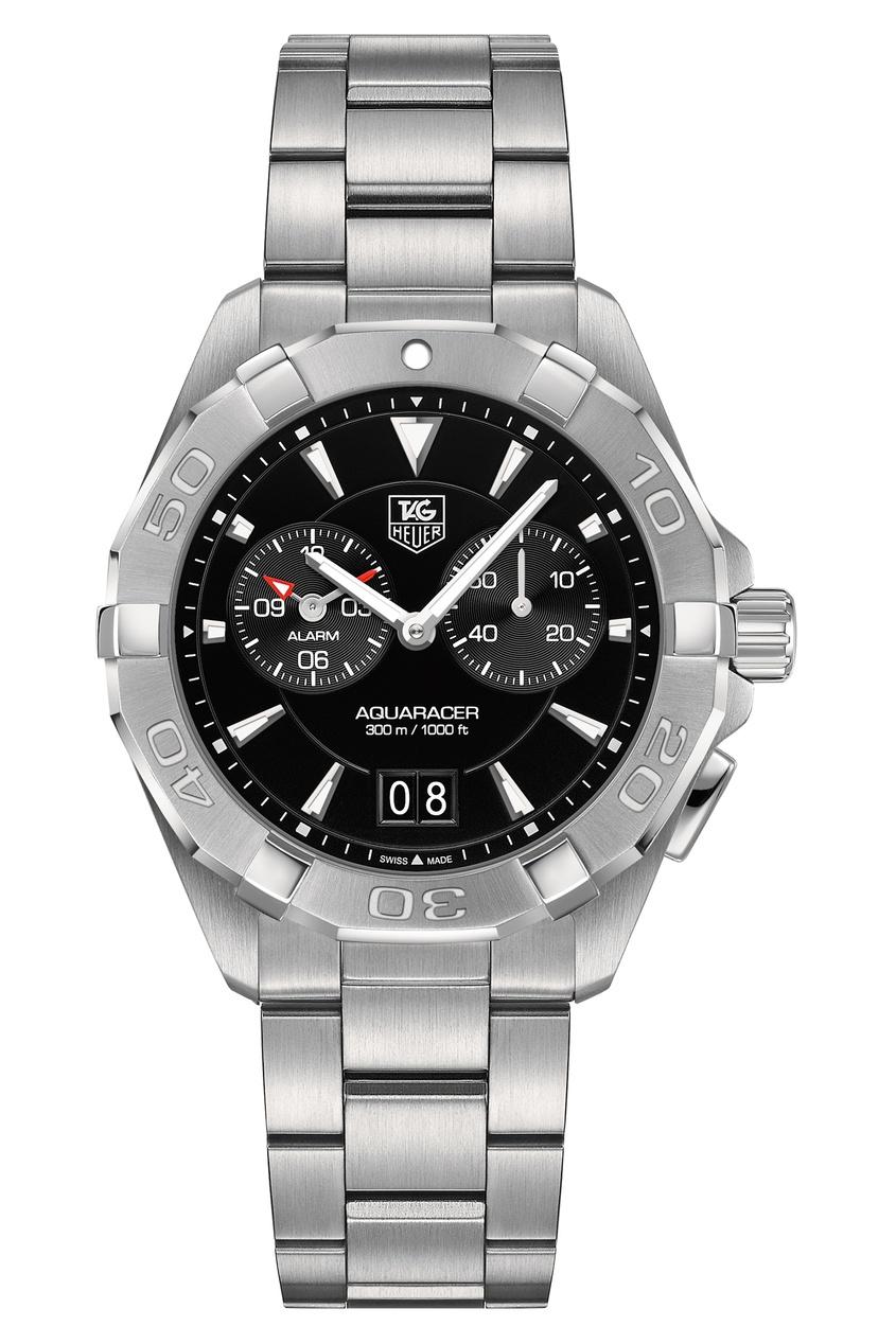 AQUARACER Кварцевые мужские часы с черным циферблатом