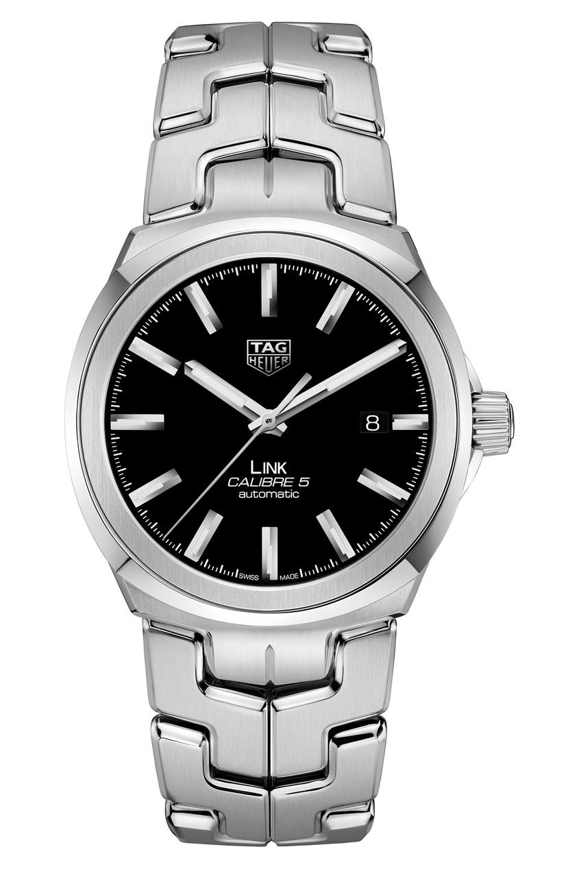 LINK Calibre 5 Автоматические мужские часы с черным циферблатом