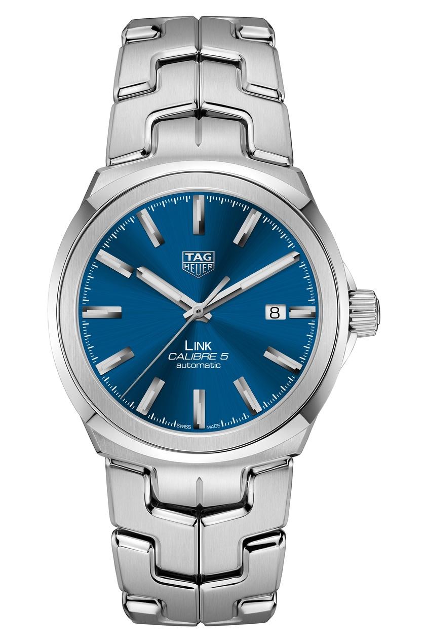 LINK Calibre 5 Автоматические мужские часы с синим циферблатом