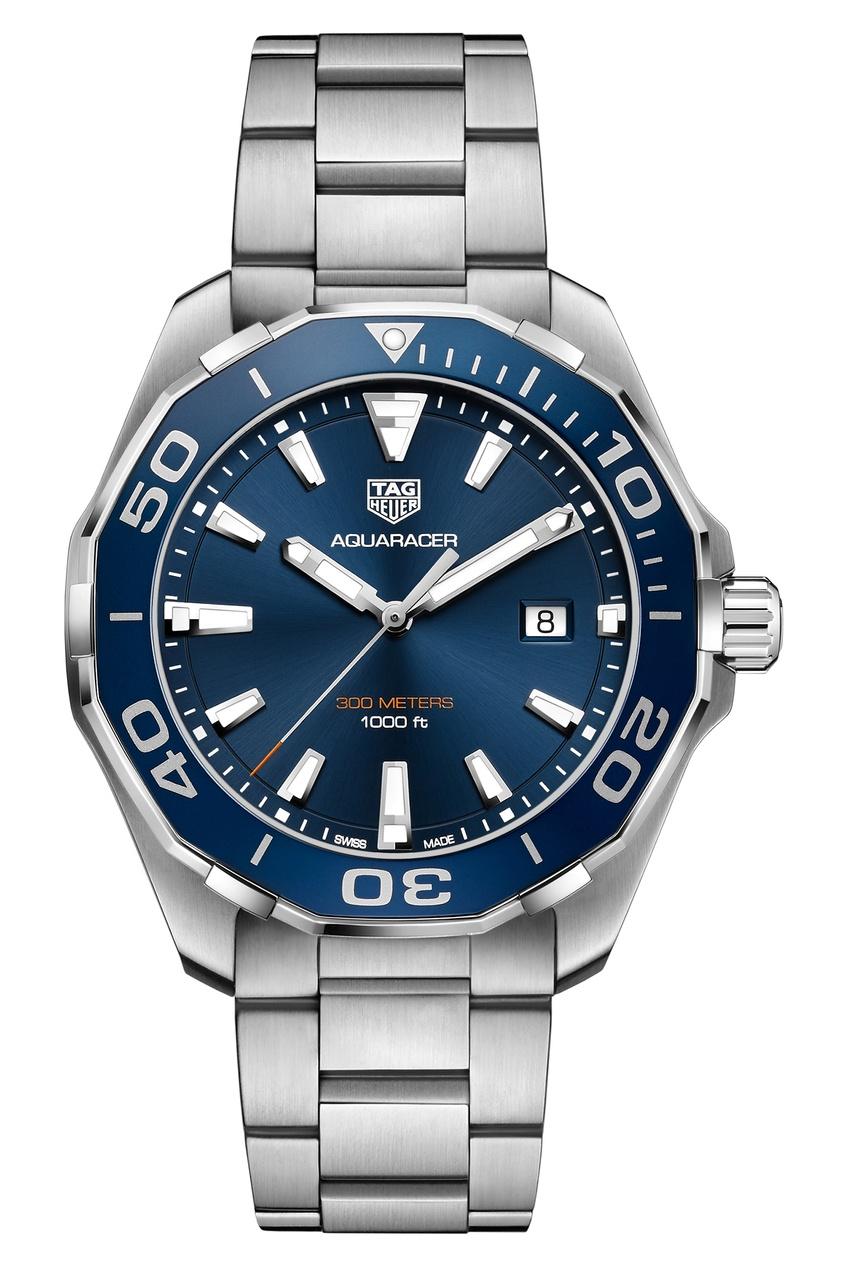 Купить AQUARACER Кварцевые мужские часы с черным циферблатом цвет без цвета
