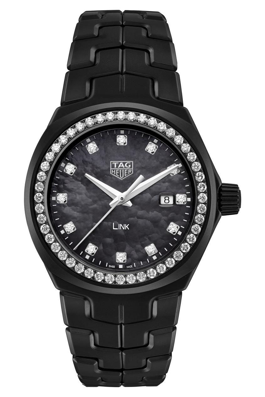 Фото - LINK Кварцевые женские часы с автографом Беллы Хадид цвет без цвета