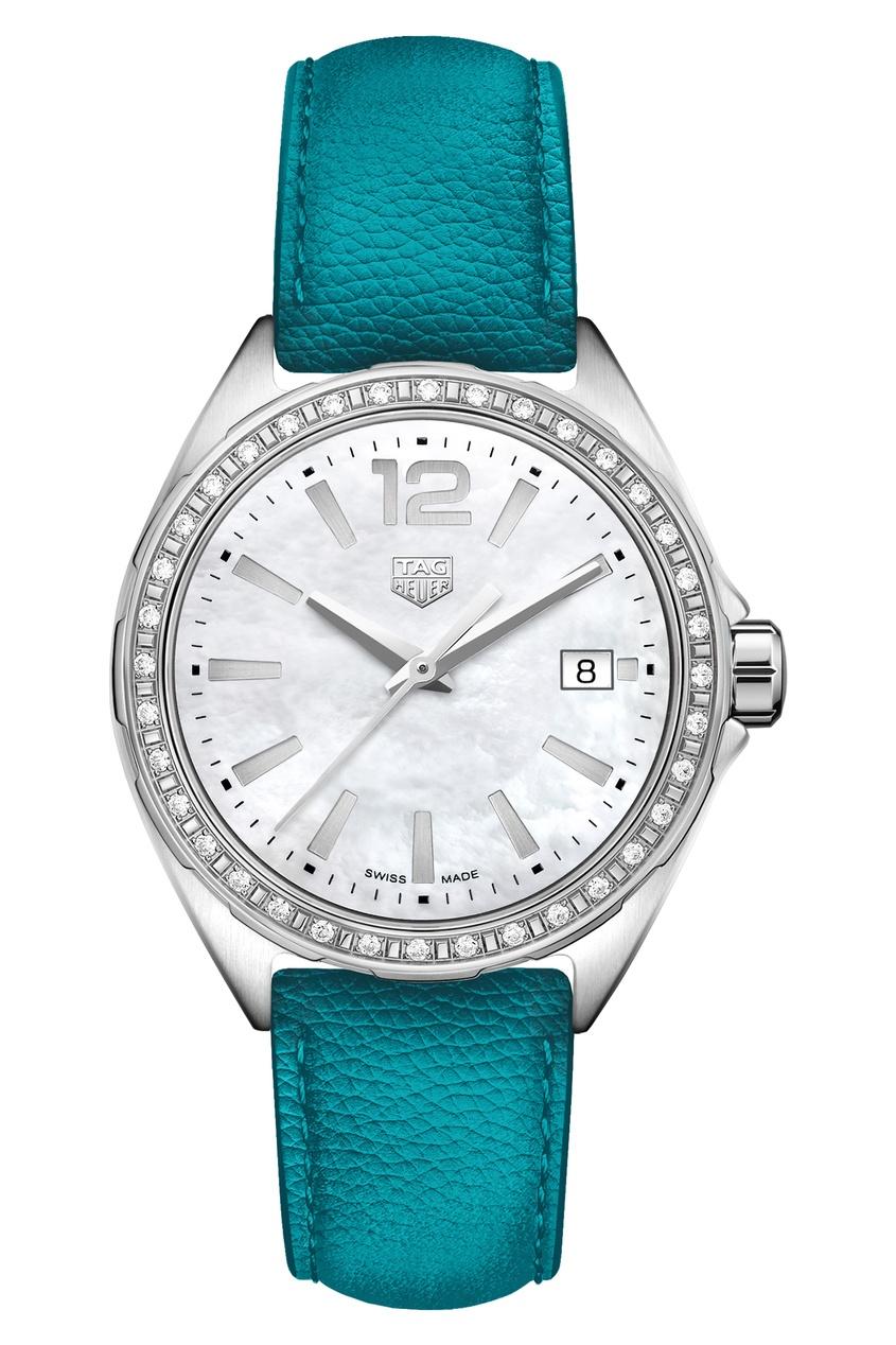 FORMULA 1 Кварцевый женский хронограф с синим ремешком