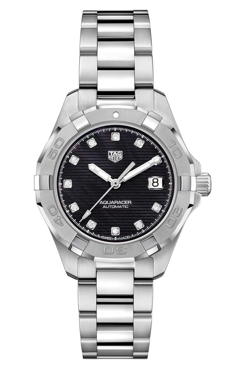 AQUARACER Calibre 9 Автоматические женские часы с черным циферблатом