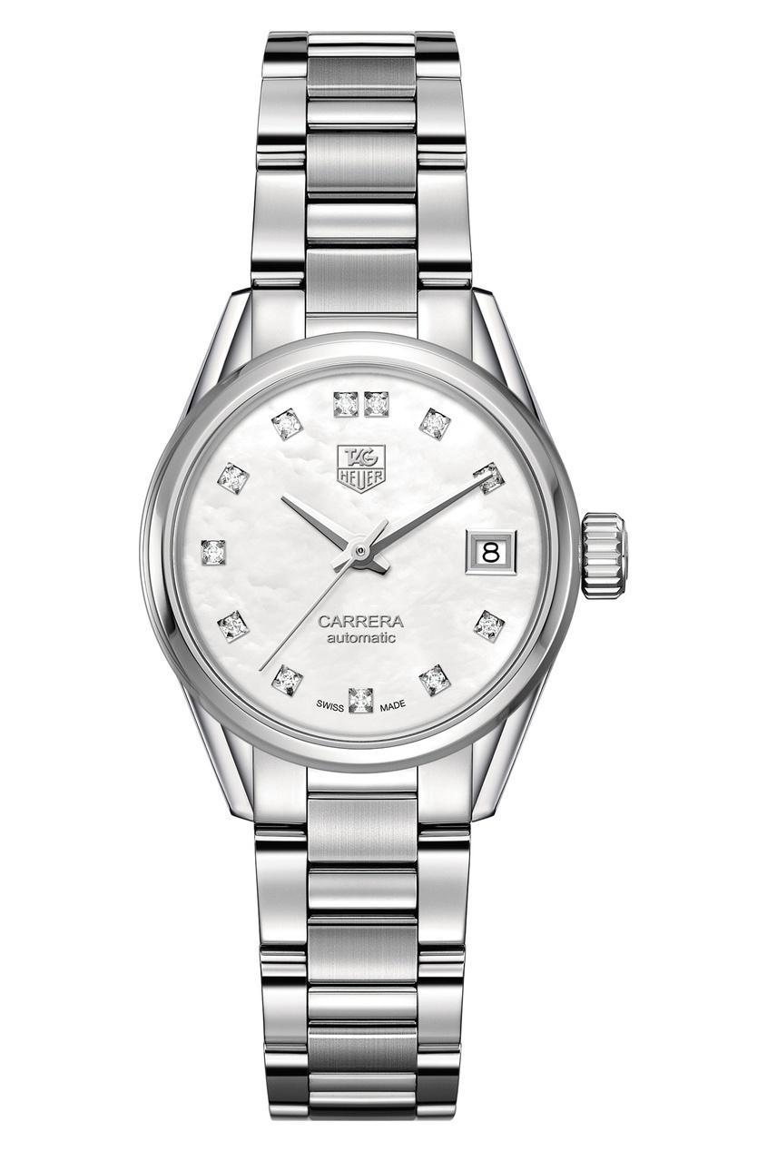 CARRERA Calibre 9 Автоматические женские часы с белым циферблатом