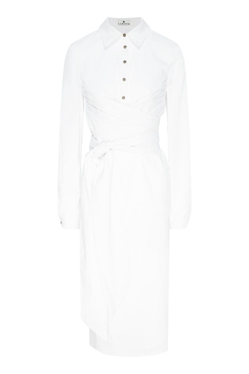 женское платье laroom, белое