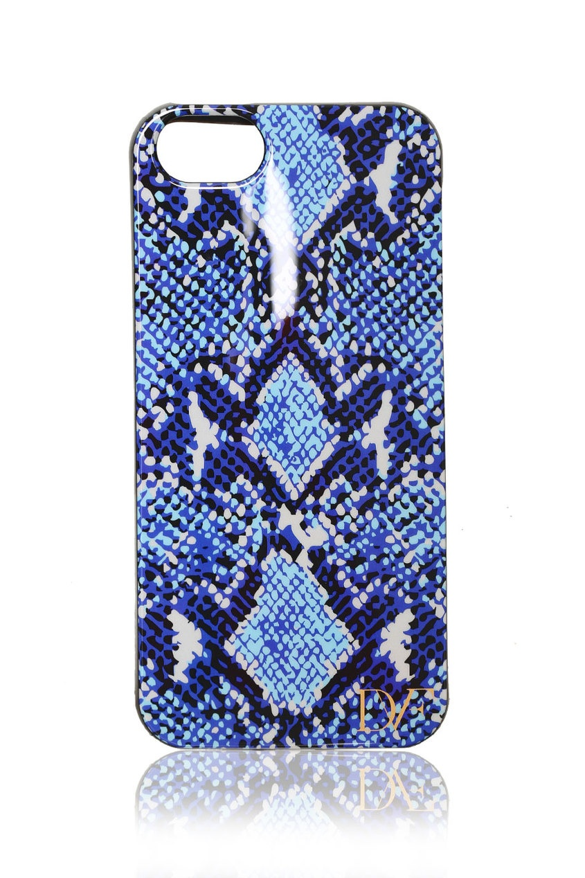 Чехол для iPhone 5/5S Python Medium Blue