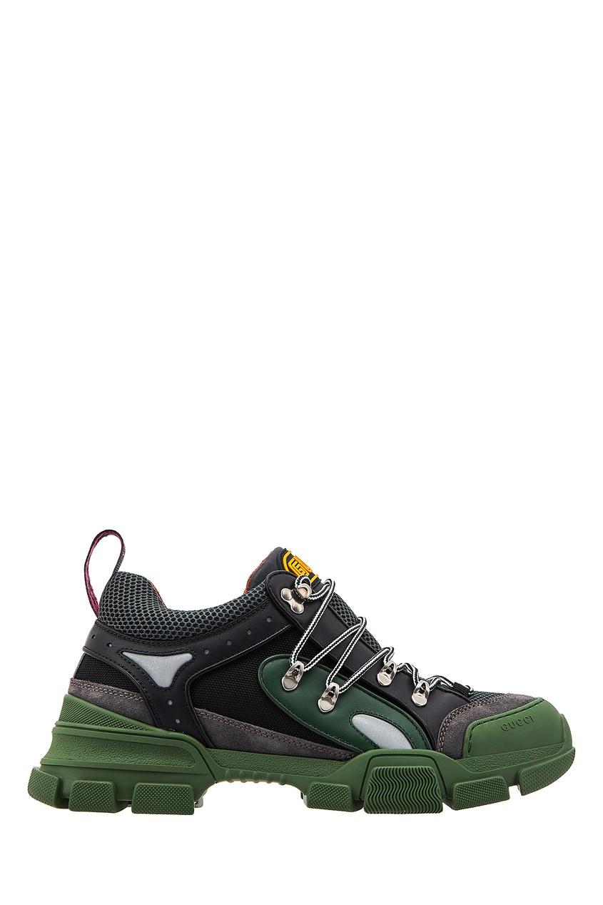 мужские кроссовки gucci man, зеленые