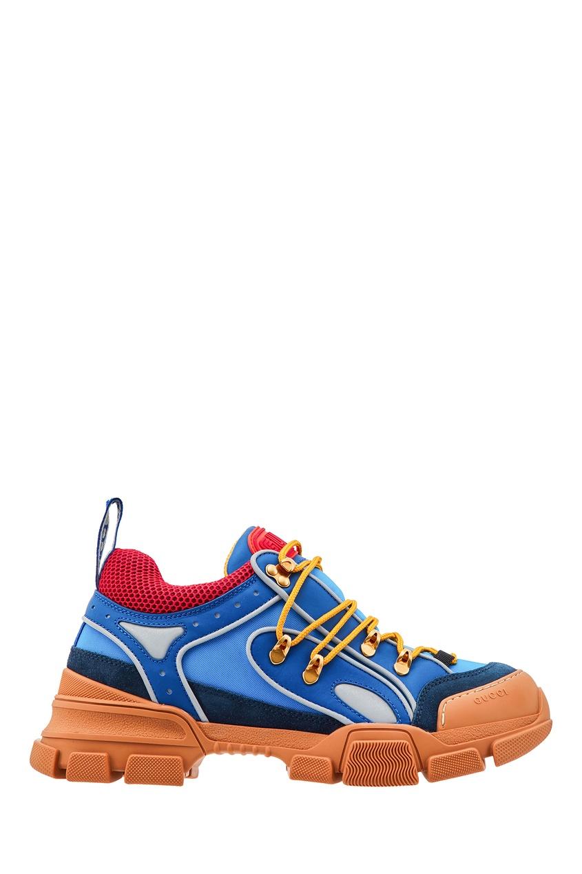 мужские кроссовки gucci man, синие