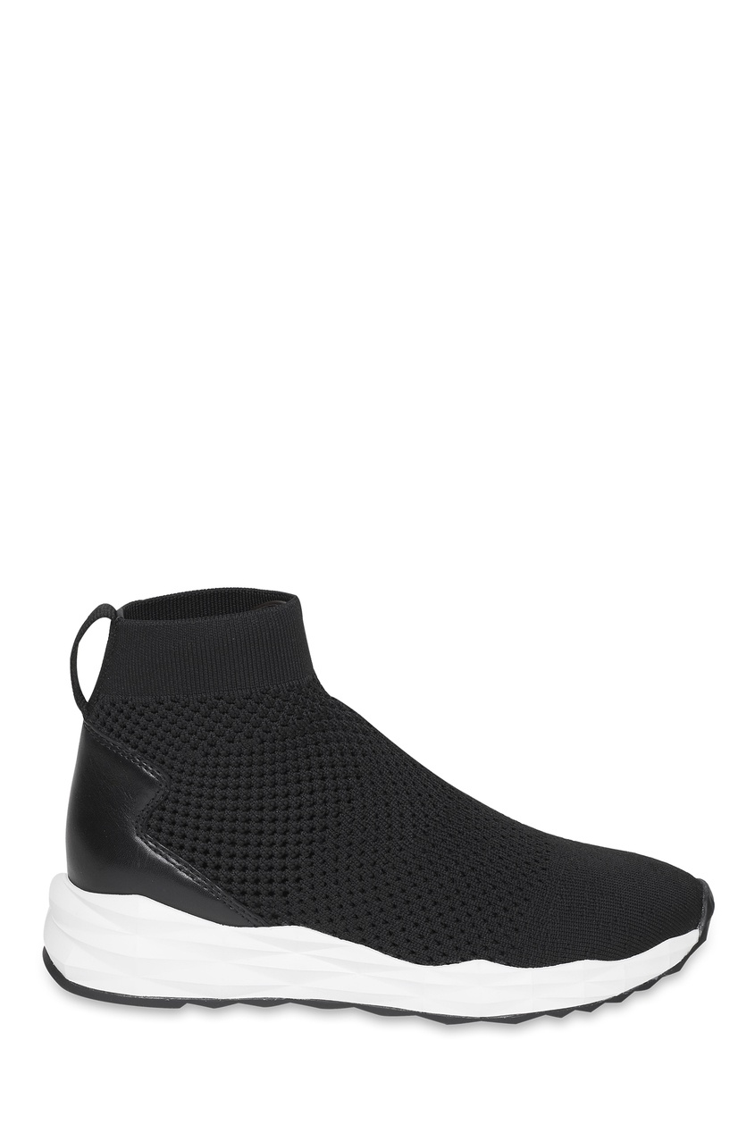 Купить со скидкой Черно-белые кроссовки-носки Sound